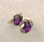WR54 14kt with gold with 2.0ct amethyst