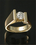 WR49 18kt yellow gold with .80ct diamond