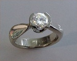 WR41 14kt white gold .50ct diamond